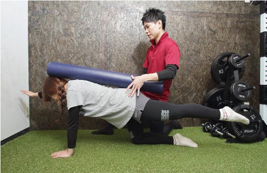 姿勢定着体幹トレーニング
