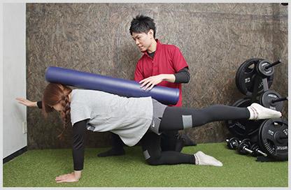 筋肉に効果的な刺激を与えるトレーニングを導入